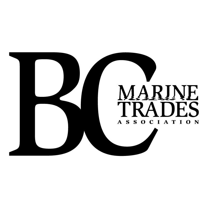 BC Marine Trades Association 50060 vector