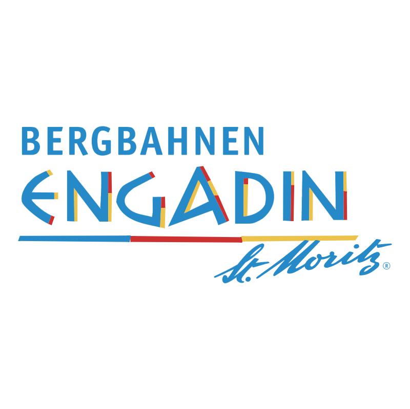 Bergbahnen Engadin St Moritz vector