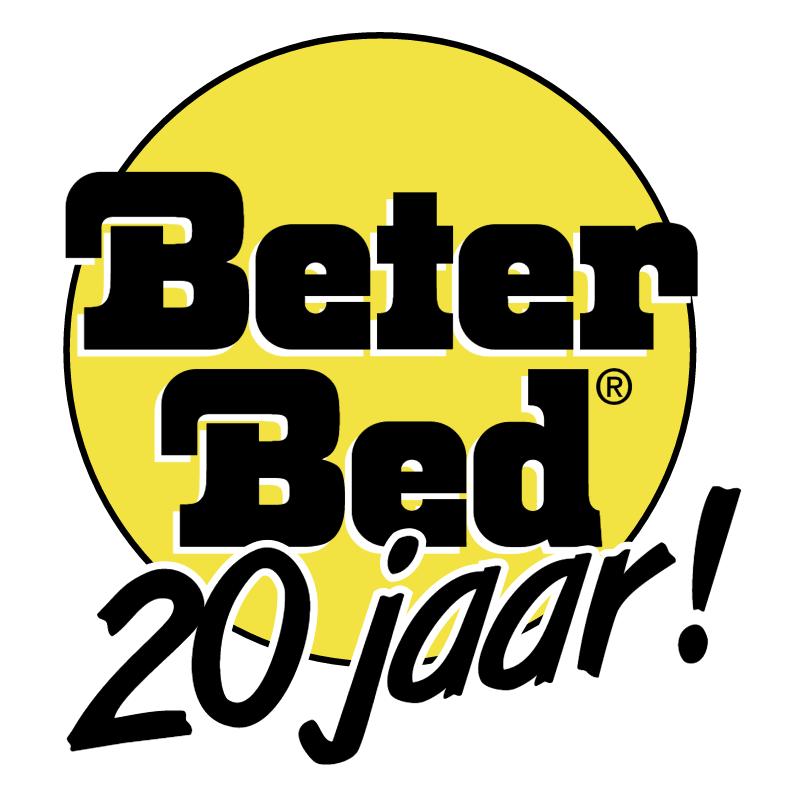 Beter Bed 20 Jaar vector