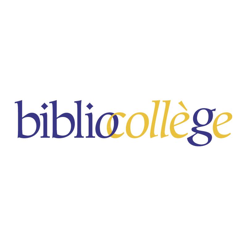 Bibliocollege vector