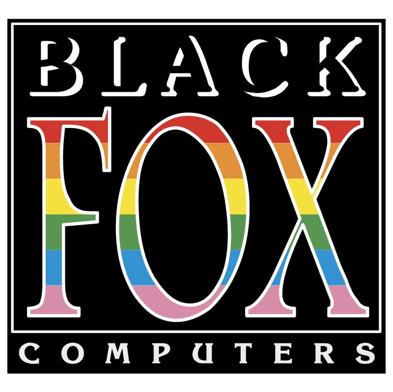 Black Fox Computers vector
