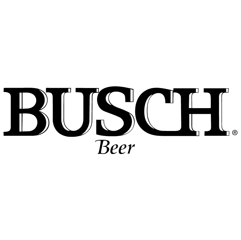 Busch Beer vector