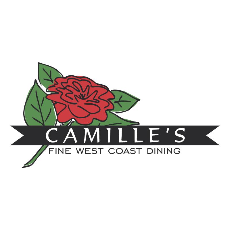 Camille s Restaurant vector