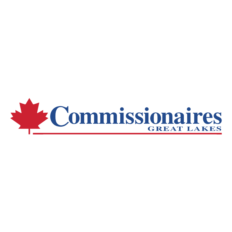 Commissionaires Great Lakes vector