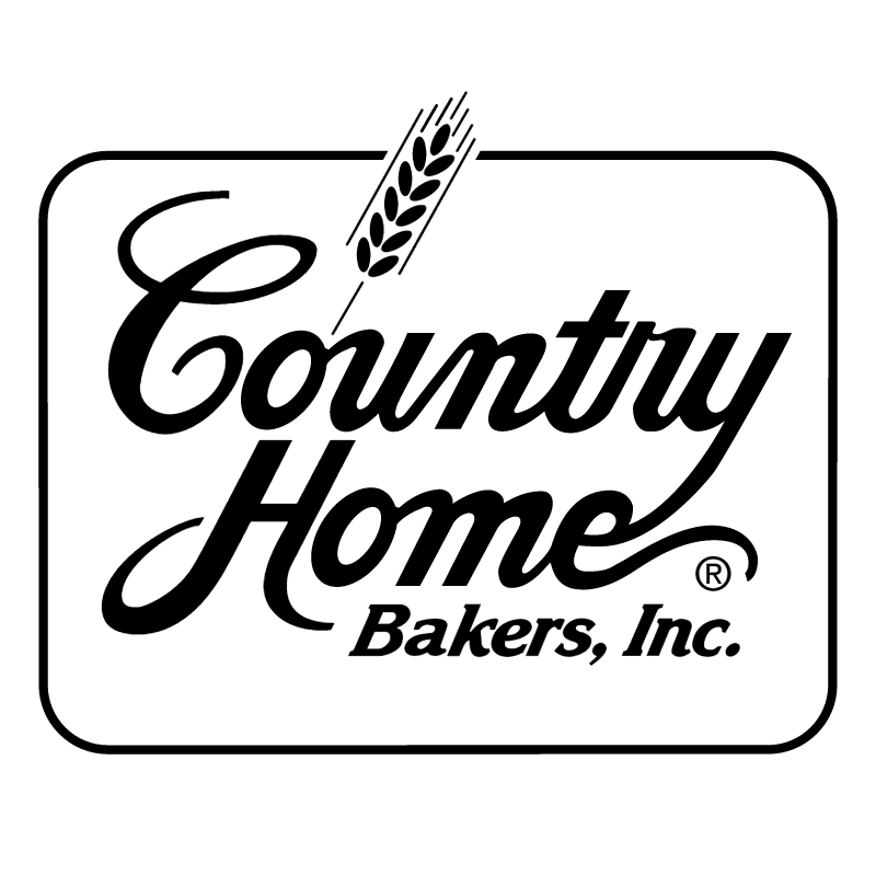 Country Home Bakers vector logo
