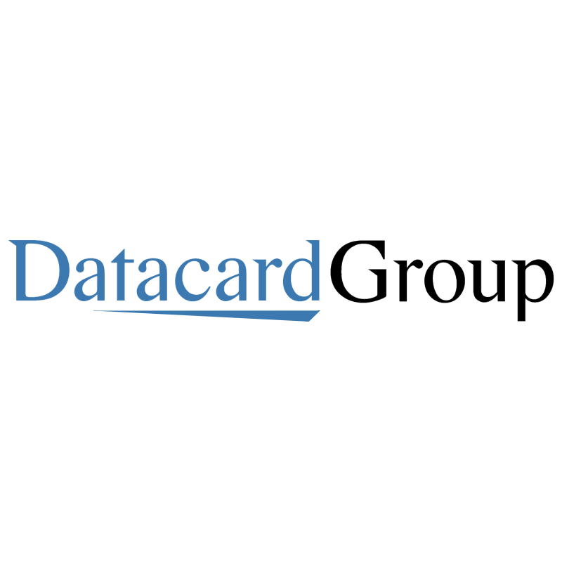 Datacard Group vector