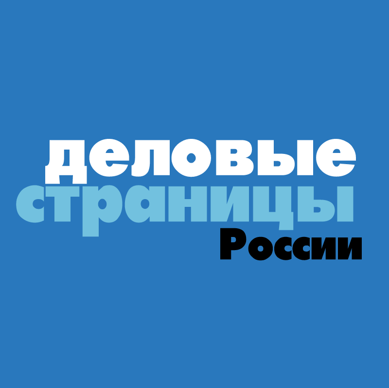 Delovye Stranitcy Rossii vector