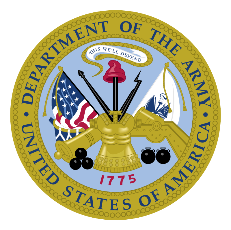 Department of the Army vector logo