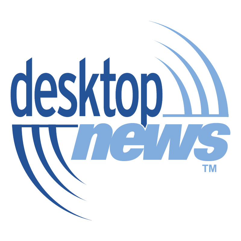 Desktop News vector