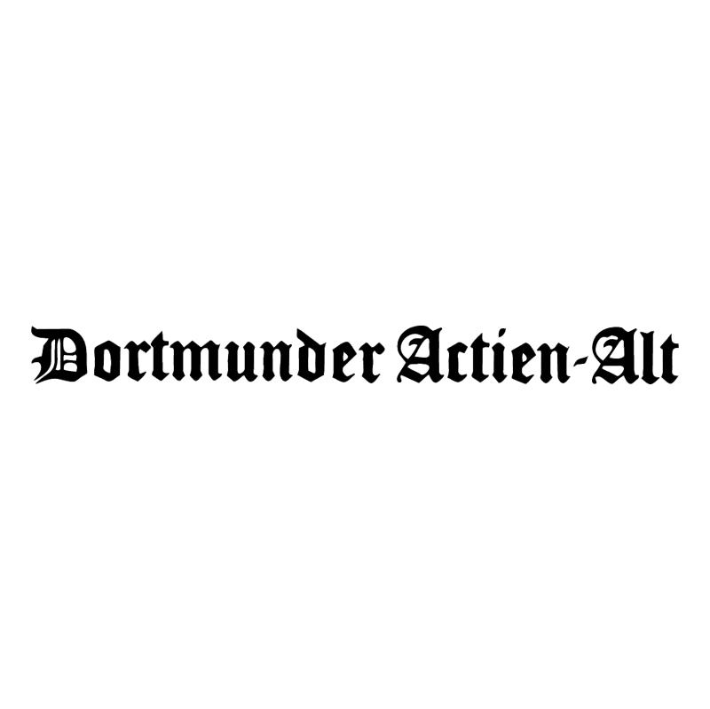 Dortmunder Actien Alt vector