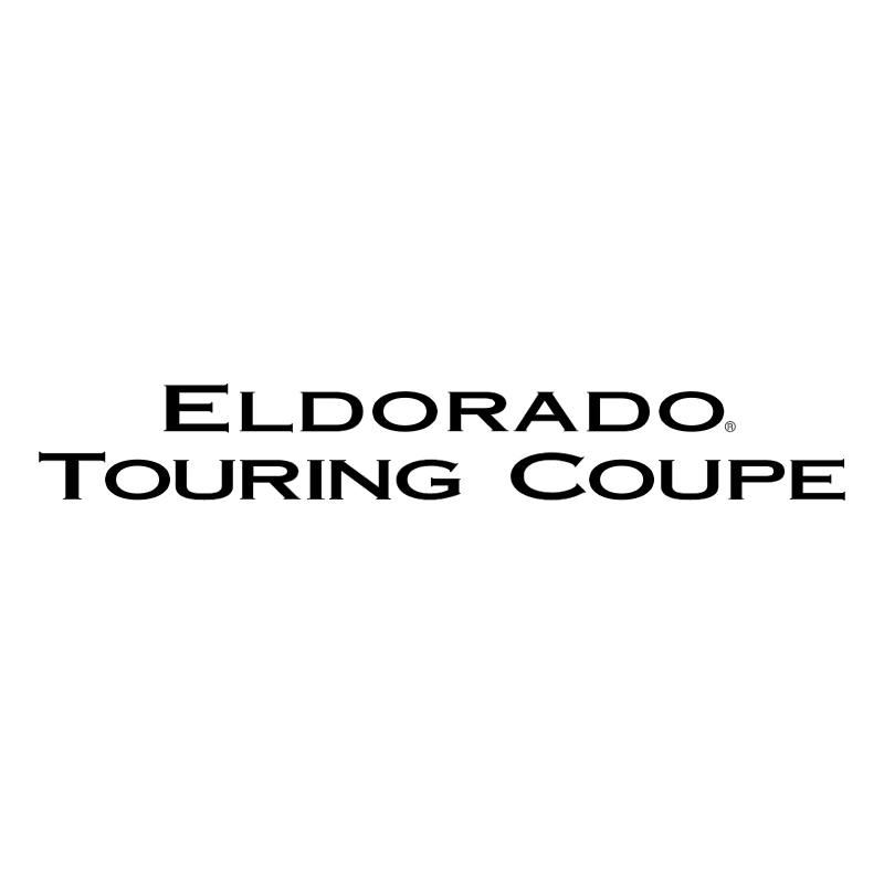 Eldorado Touring Coupe vector