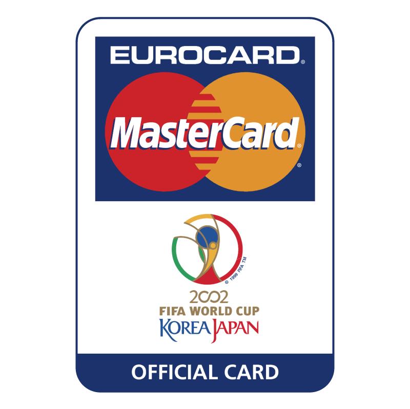 Eurocard MasterCard 2002 FIFA World Cup vector