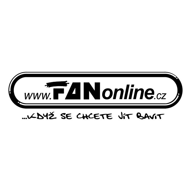 FAN online vector logo