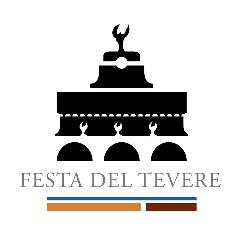 Festa del Tevere vector logo