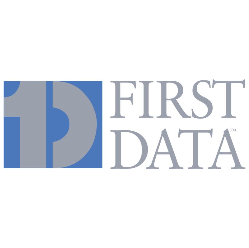 First Data vector