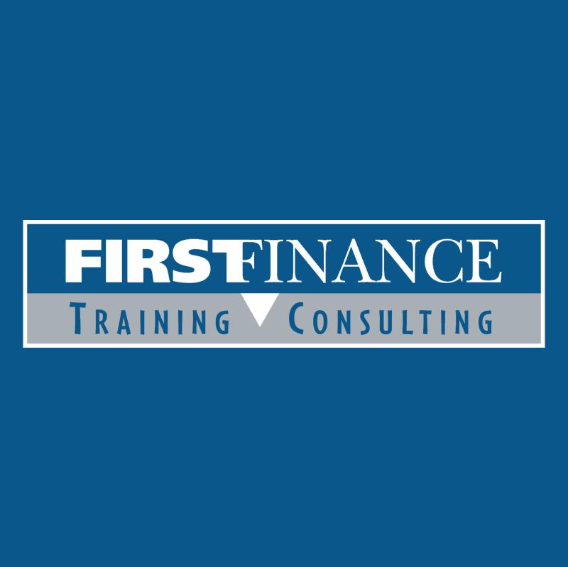First Finance vector