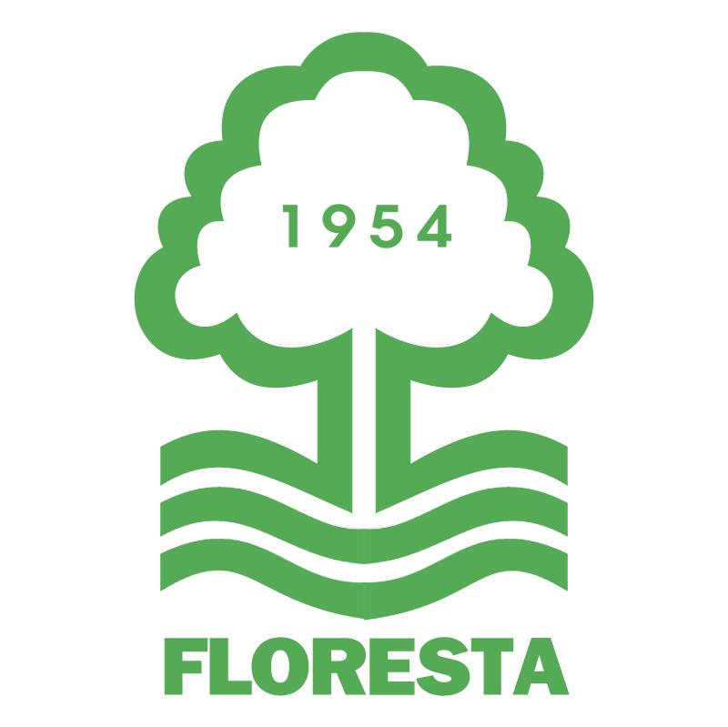 Floresta Esporte Clube de Fortaleza CE vector