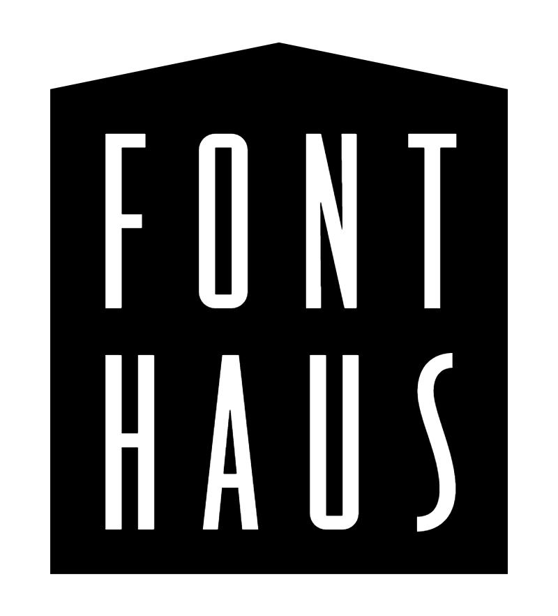 Font Haus vector