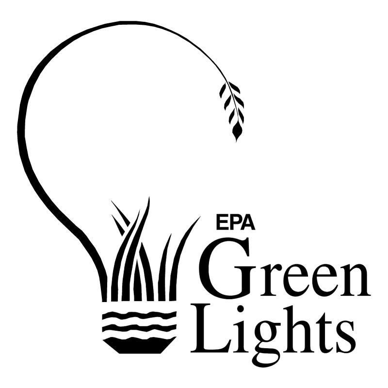 Green Lights vector
