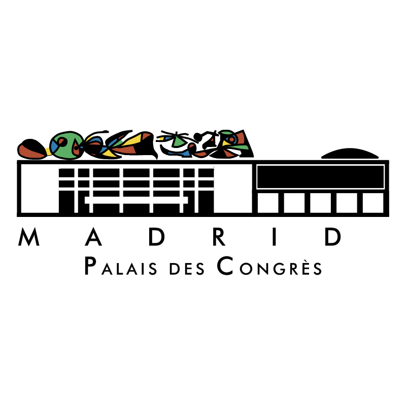 Madrid Palacio de Congres vector