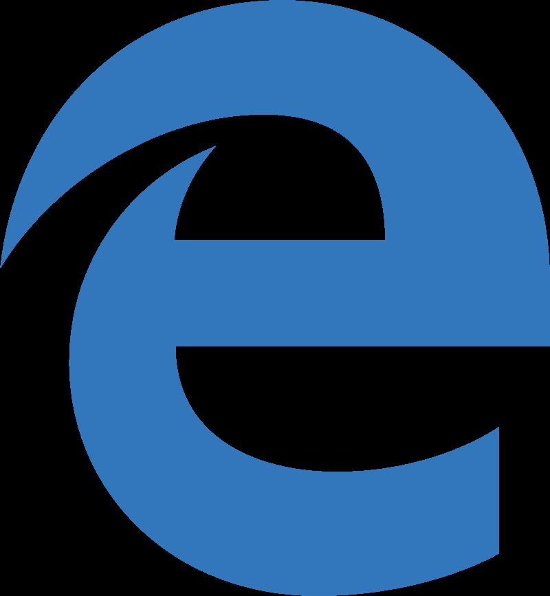 Microsoft Edge vector