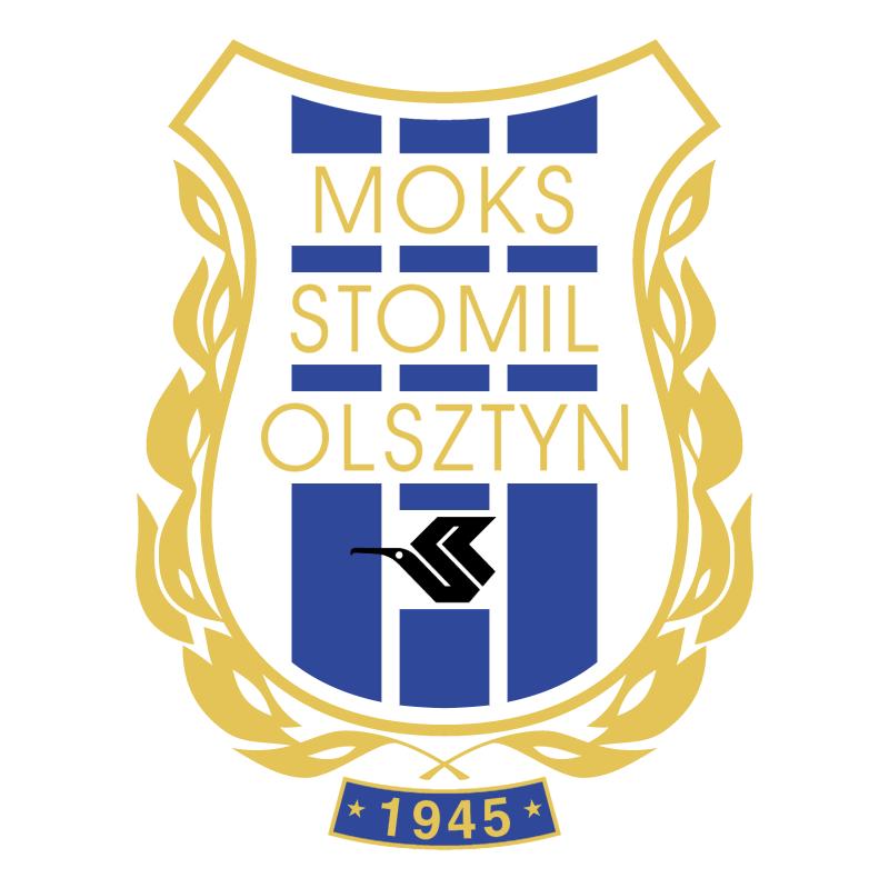 MOKS Stomil Olsztyn vector logo