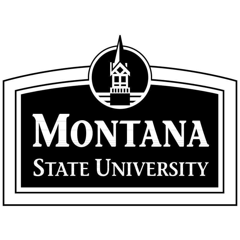 Montana State University vector