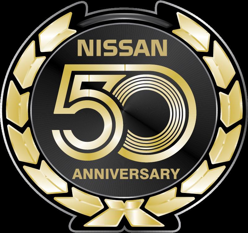 Nissan 50 Anniversary vector