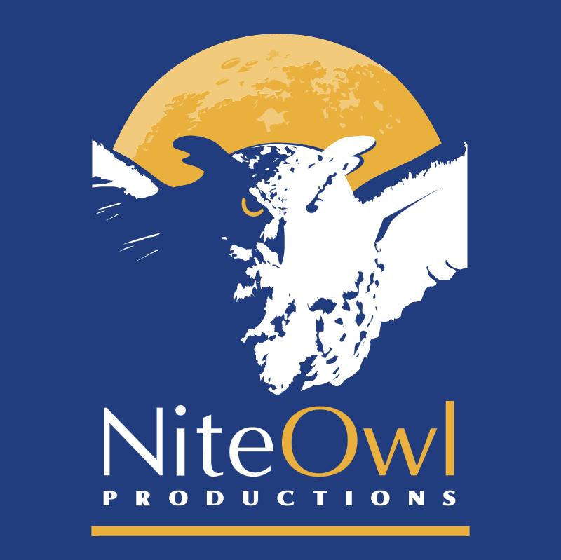 NiteOwl Productions vector logo