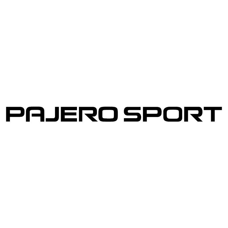 Pajero Sport vector