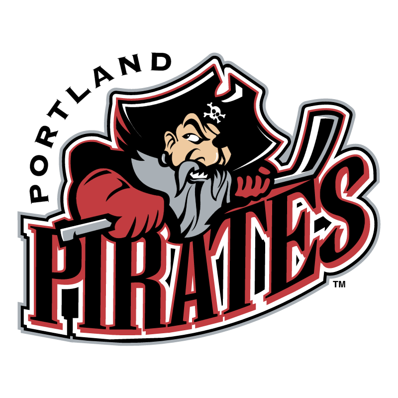 Portland Pirates vector