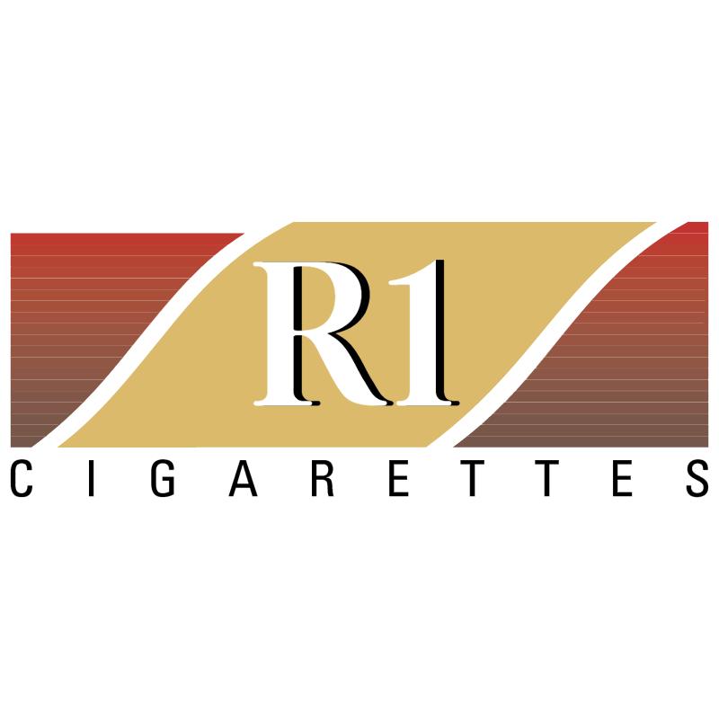 R1 Cigarettes vector