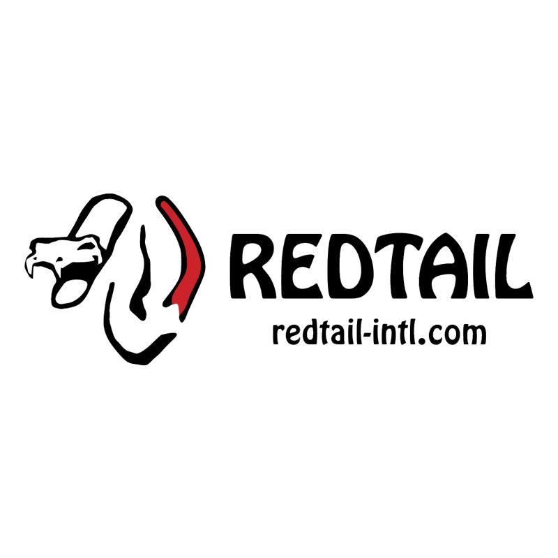 Redtail vector