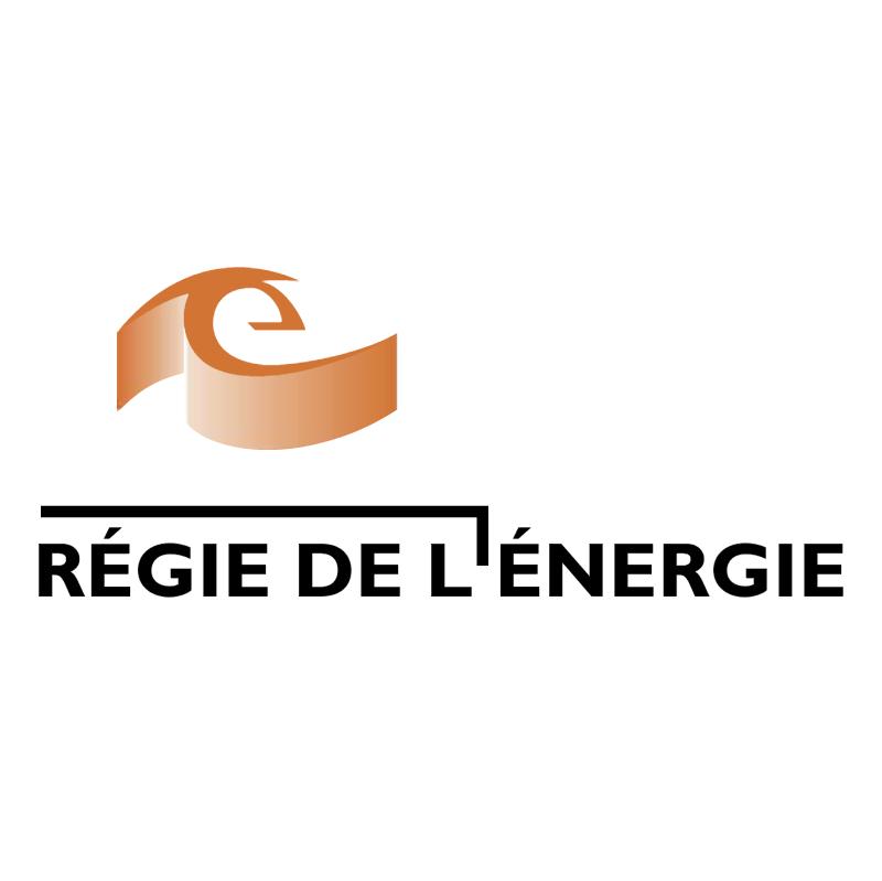 Regie De L'Energie vector logo
