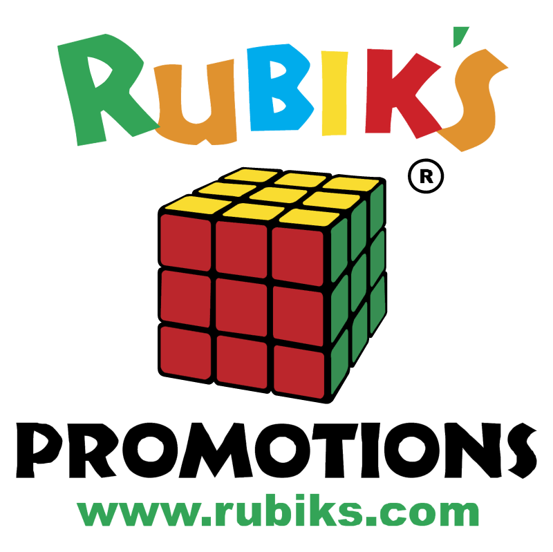 Rubiks Promotions vector
