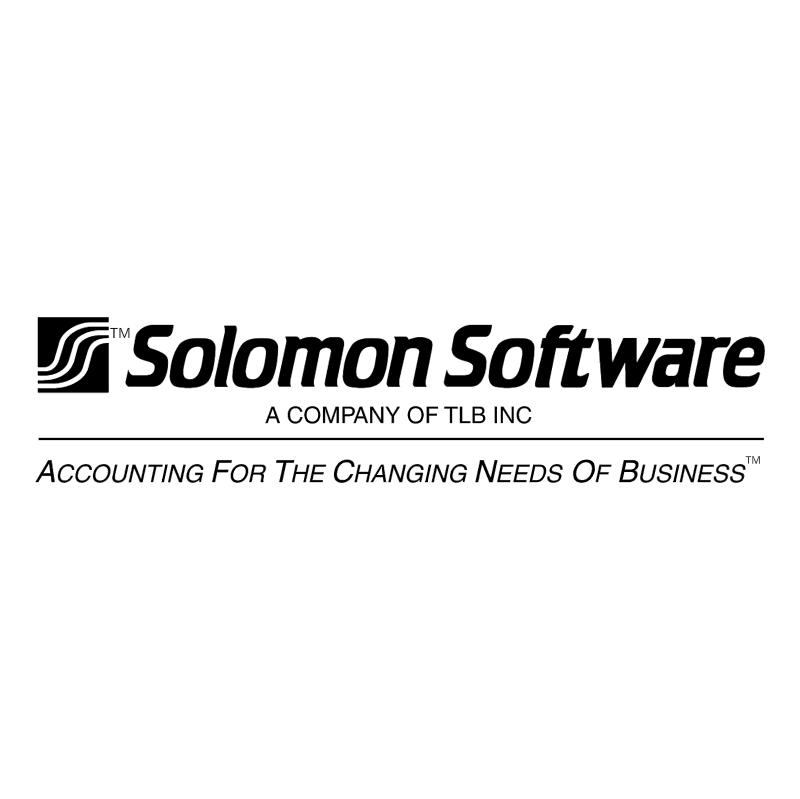 Solomon Software vector logo