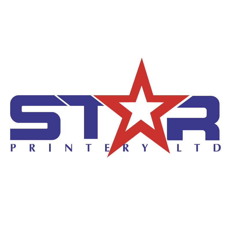 Star Printery vector