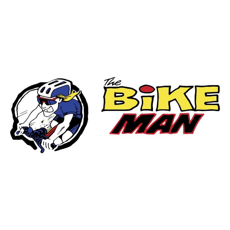 The Bike Man vector