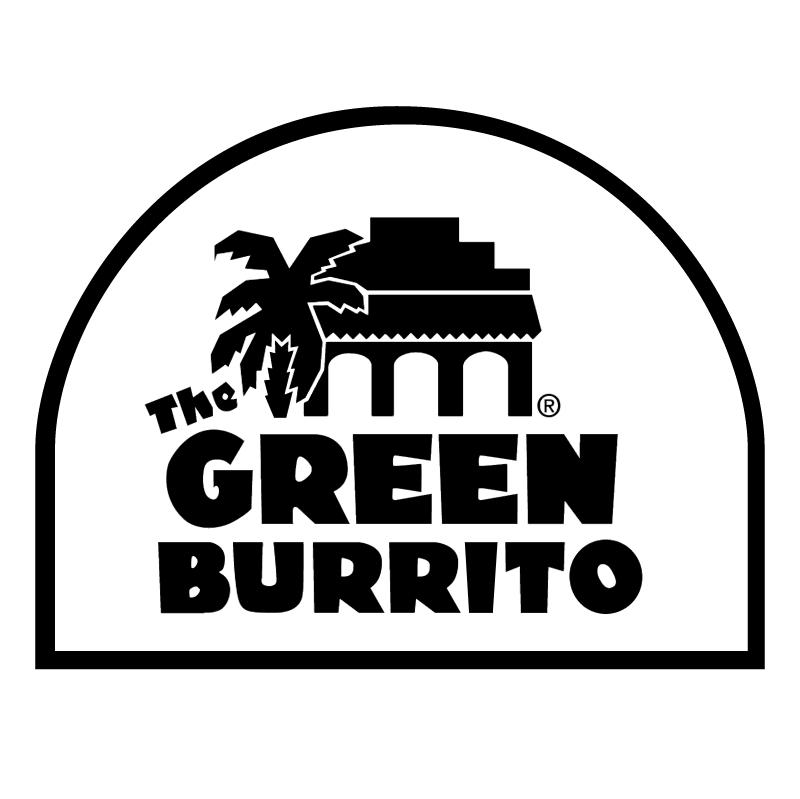 The Green Burrito vector logo