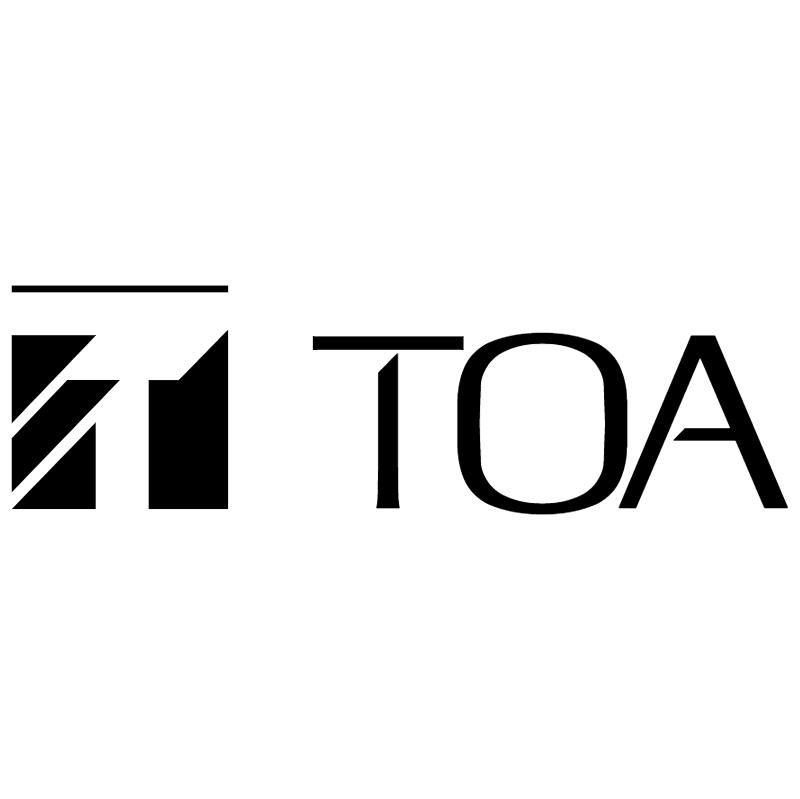 TOA vector logo