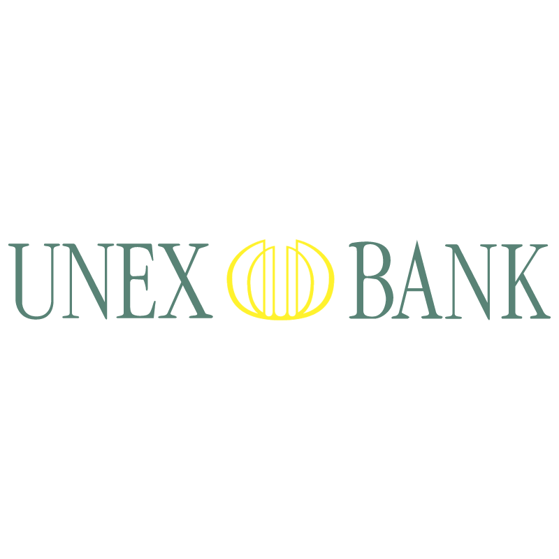 Unex Bank vector logo