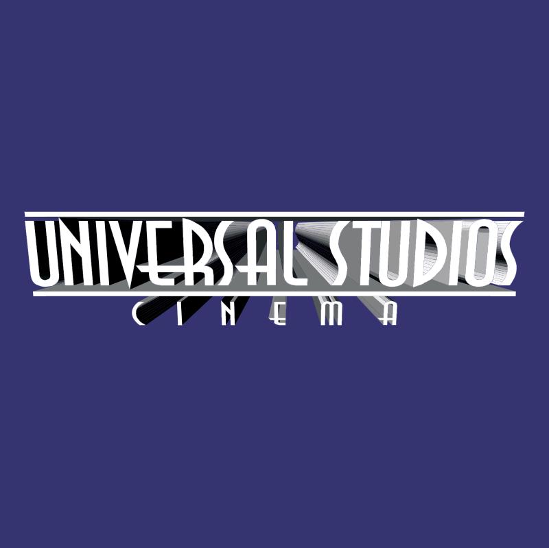 Universal Studios Cinema vector logo