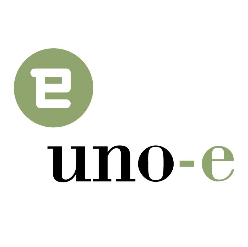 uno e vector logo