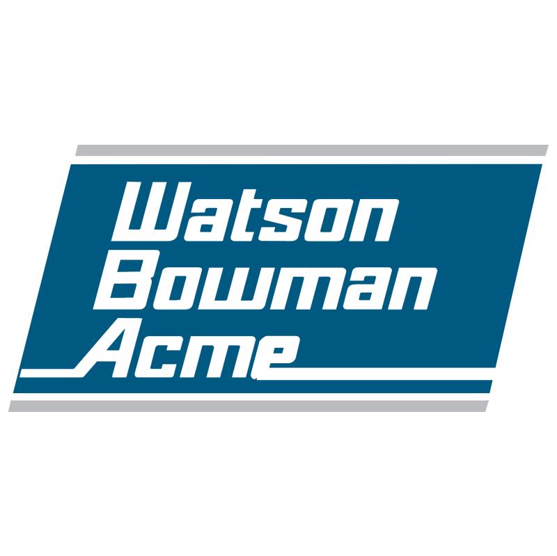 Watson Bowman Acme vector
