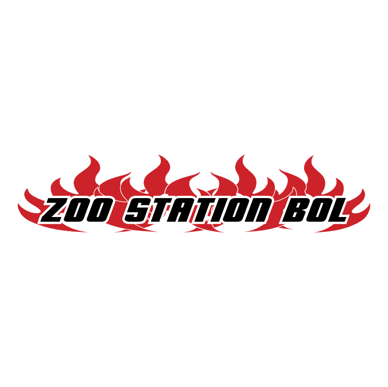 Zoo Station Windsurfing vector