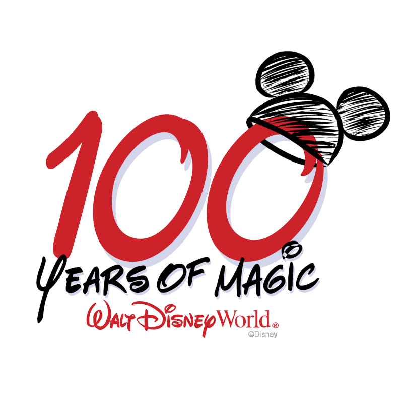 100 Years of Magic vector