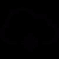 Snowflake in a Cloud vector