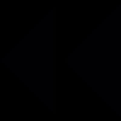 Rewind arrows vector logo