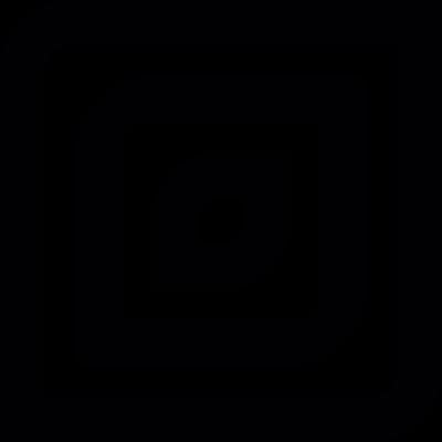 Decorative squares vector logo