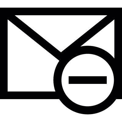 Remove Mail vector logo